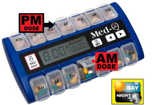 Programmable Pill dispenser