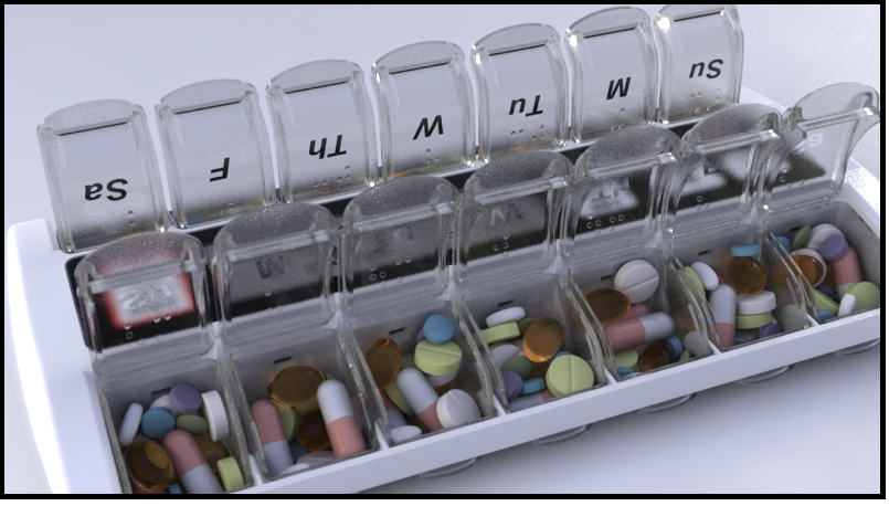 Programmable Pill Dispenser