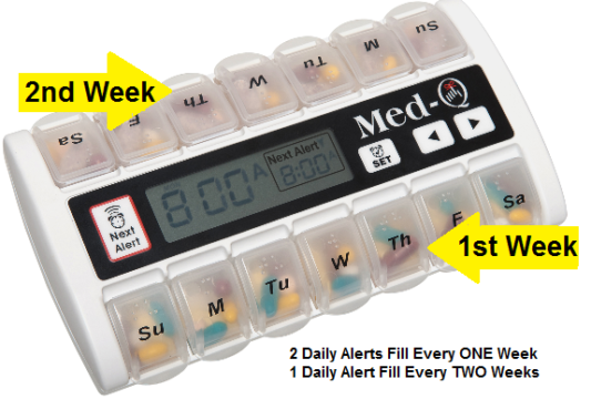 best pill box with alarms
