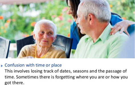 Senior Confusion About Time or Place