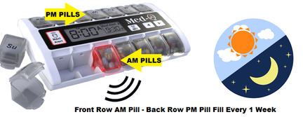 electronic Pill Box with alarm