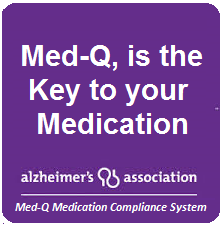 MED-Q pill box with alarms for Alzheimer's Treatment