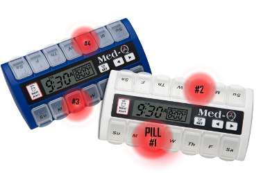 Medq-q Smart pill box with alarm