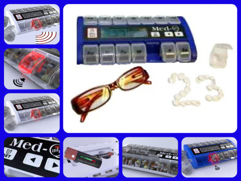 electronic pill box