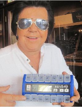 MED-Q pill alarm clock Success Story