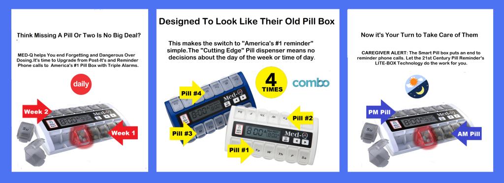 automatic pill dispenser alarm reminder