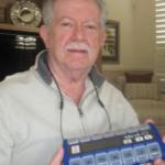 Med-Q Smart Pill Box Reminder for Dad's Medication