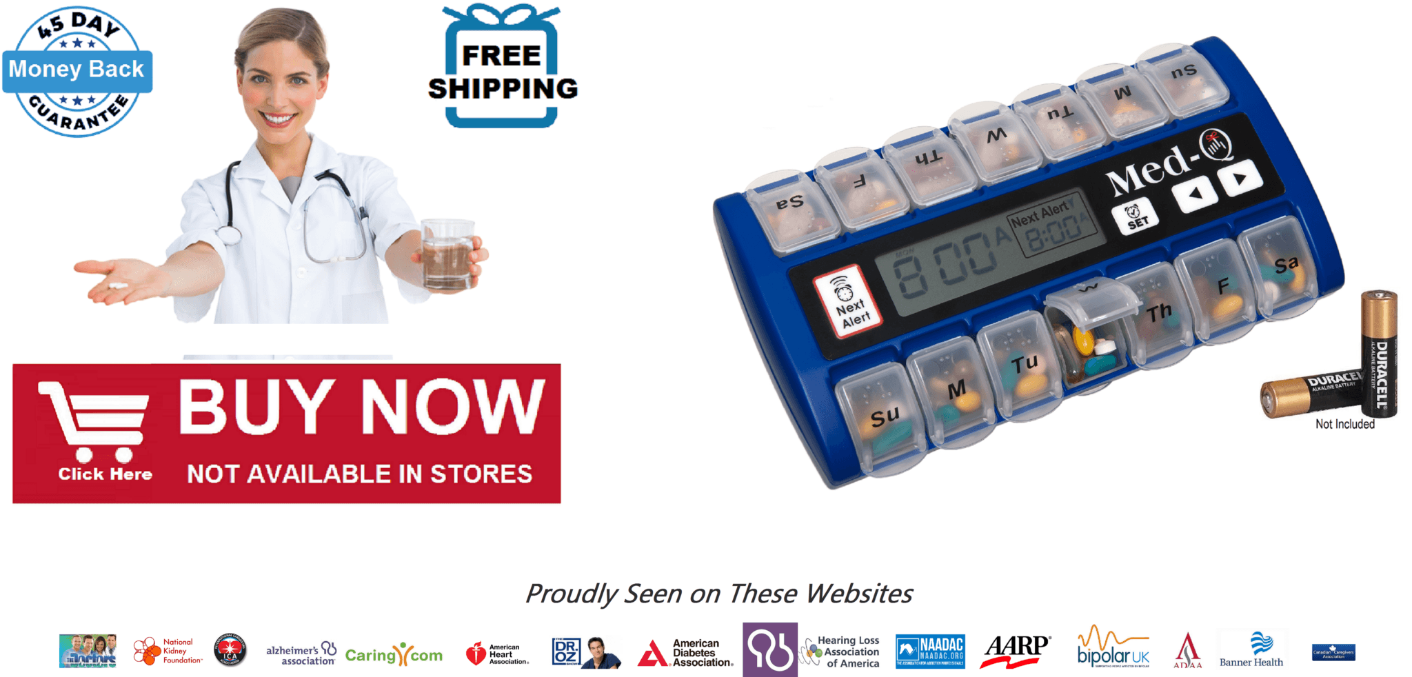 smart pill box alarm