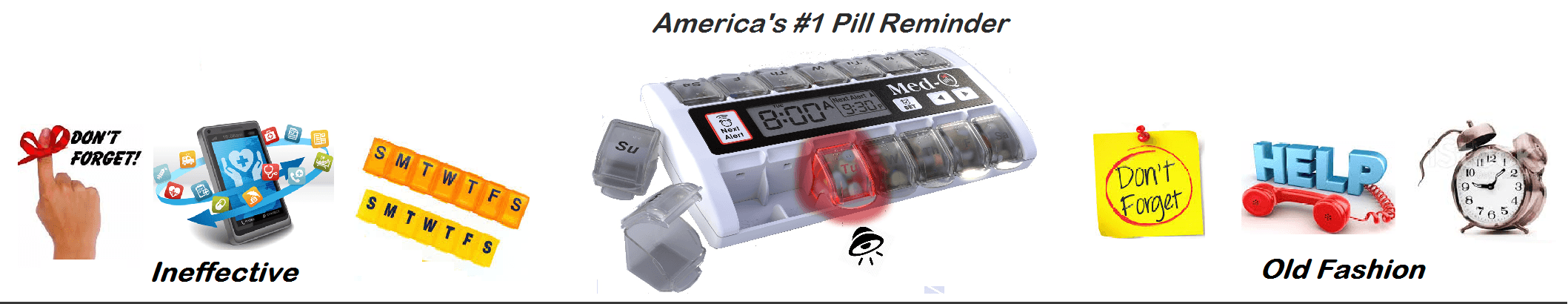 Auto pill dispenser with alarm and timer