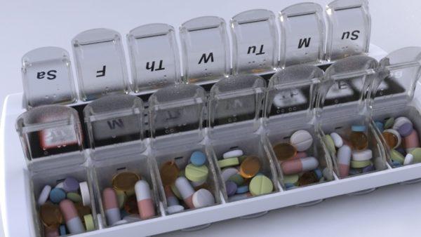 MED-Q smart Pill Dispenser for High Blood Pressure