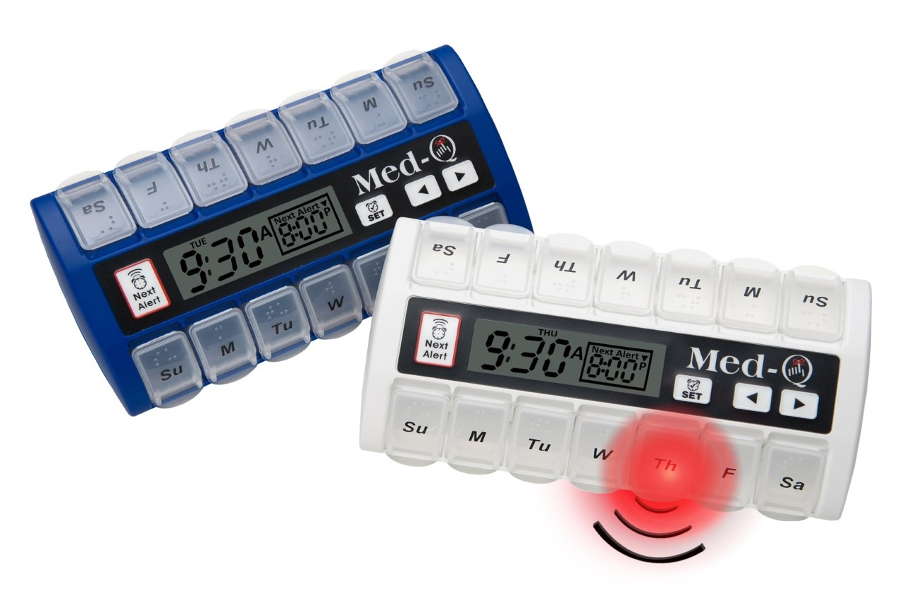 programmable pillbox with alarm