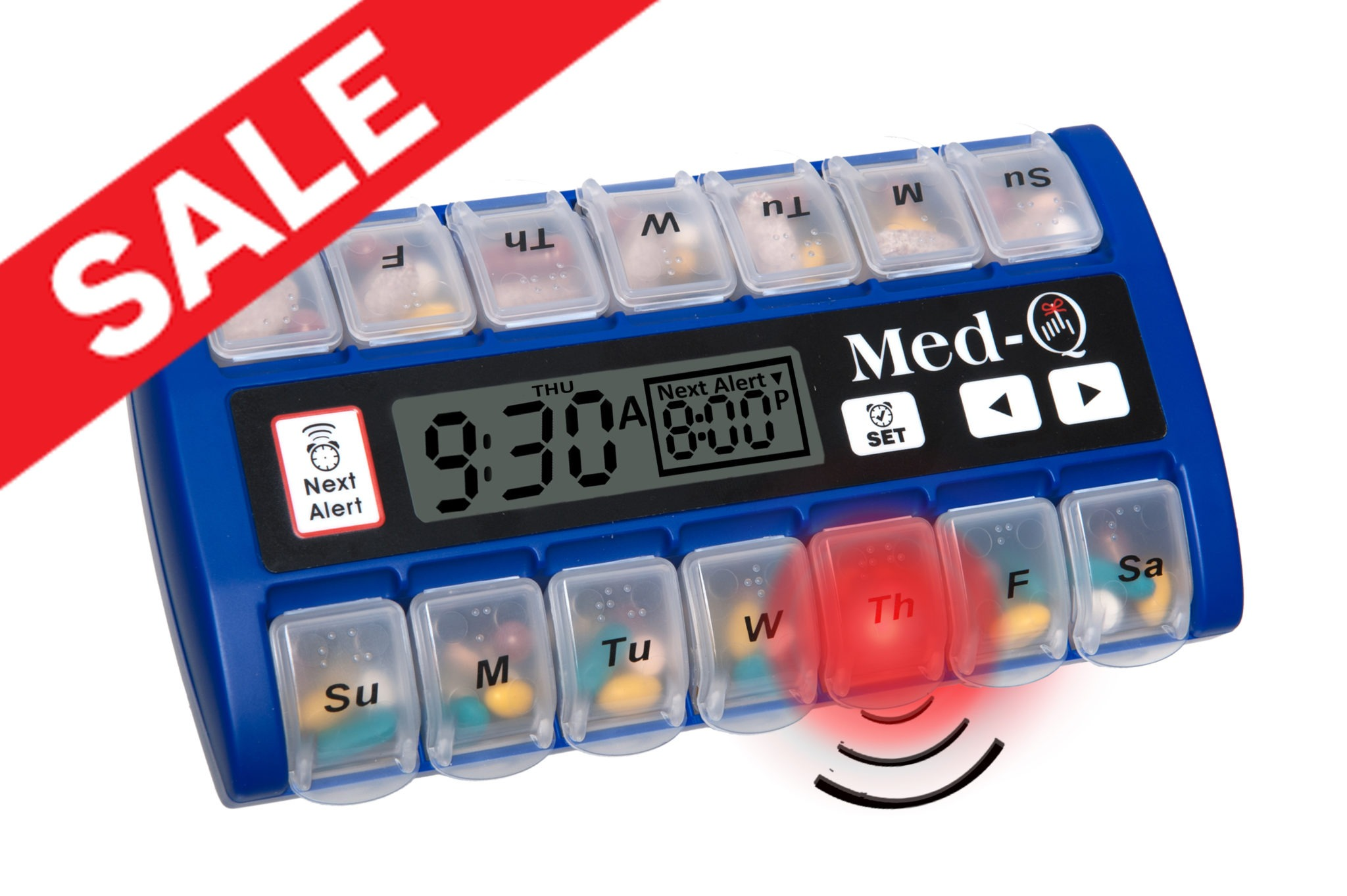 smart medicine alarm pill box