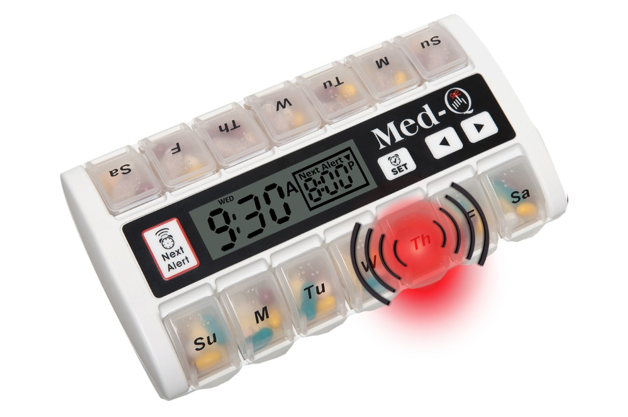 automatic pill dispenser for alzheimer's patients