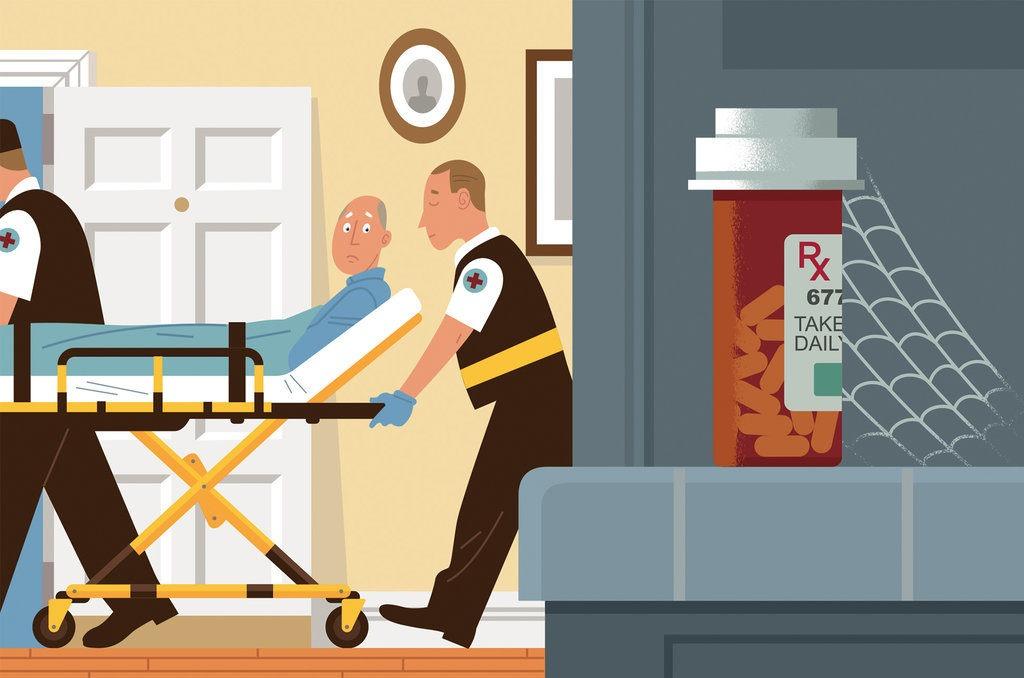 Med-Q smart medication reminder with alarm