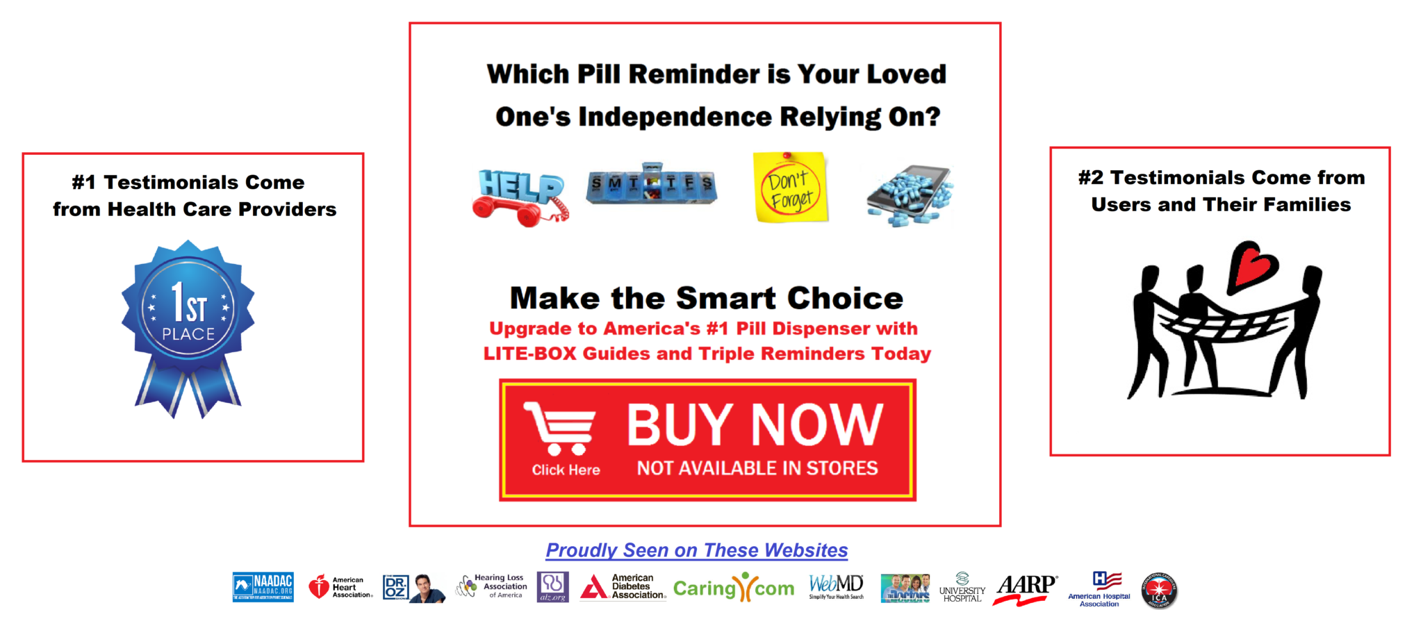 Auto pill dispenser with lock or pill dispenser with alarm