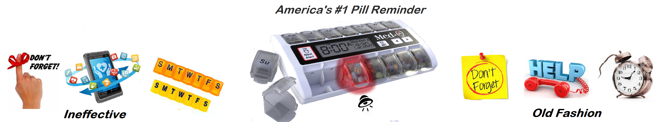 Best Smart PillBox with Flashing LITE-BOX Pill BOX Guides
