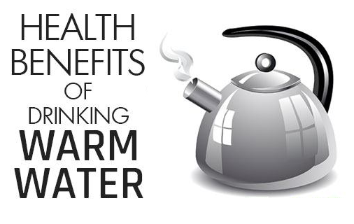 Drinking hot water on an empty stomach provides numerous health benefits